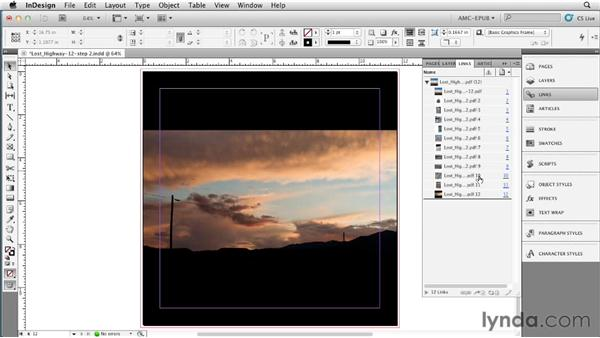 Exporting to single-page HTML files: Creating a Fixed-Layout EPUB