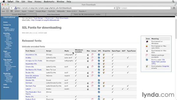Embedding fonts : Creating a Fixed-Layout EPUB