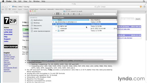 Converting expanded files back to an EPUB package: Creating a Fixed-Layout EPUB