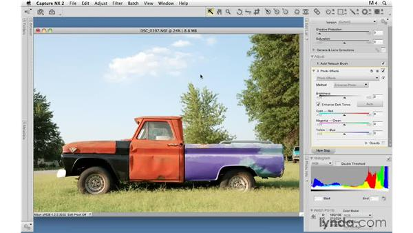 Photo effects : Capture NX 2 Essential Training