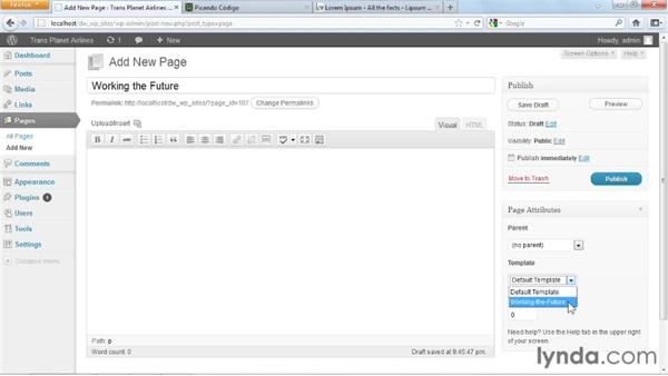 Welcome: Dreamweaver and WordPress: Building Sites