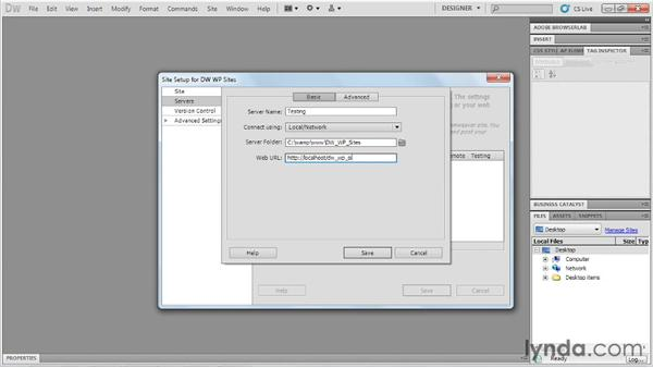 : Dreamweaver and WordPress: Building Sites