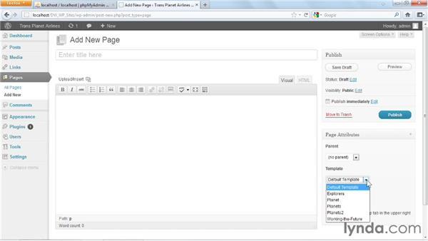 : Dreamweaver and WordPress: Building Sites