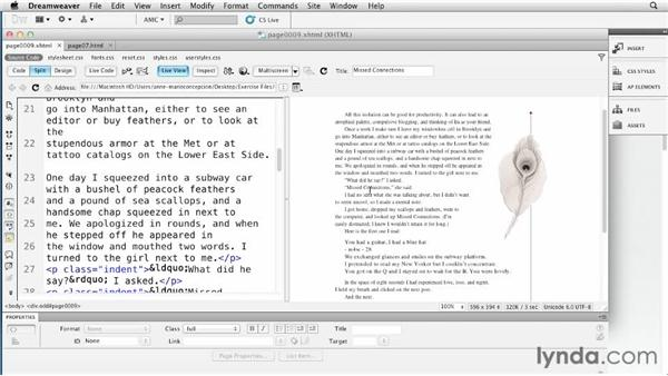 Creating text wraps: Creating a Fixed-Layout EPUB