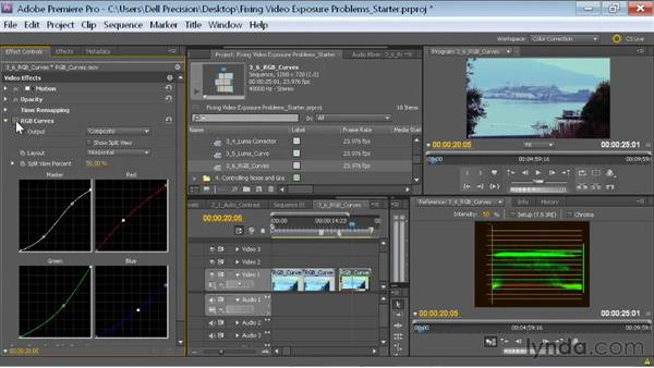 Welcome: Fixing Video Exposure Problems in Premiere Pro