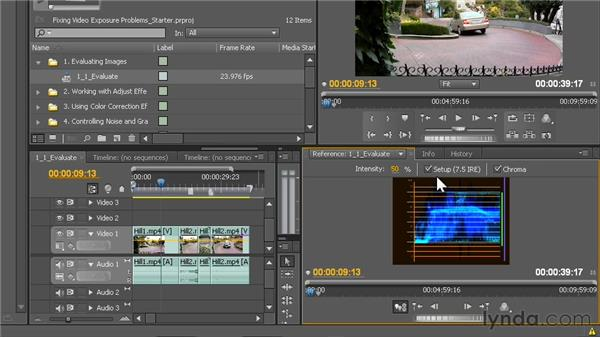 Using the Waveform Monitor: Fixing Video Exposure Problems in Premiere Pro