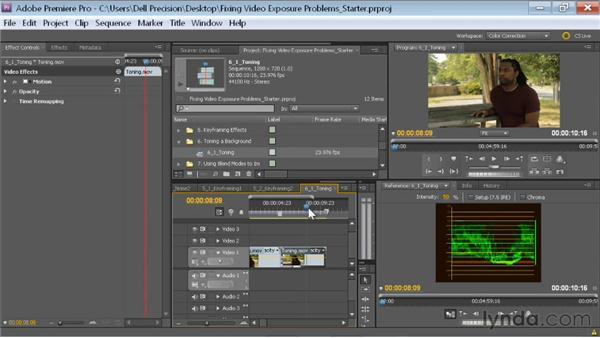 Sending to After Effects with Dynamic Link: Fixing Video Exposure Problems in Premiere Pro