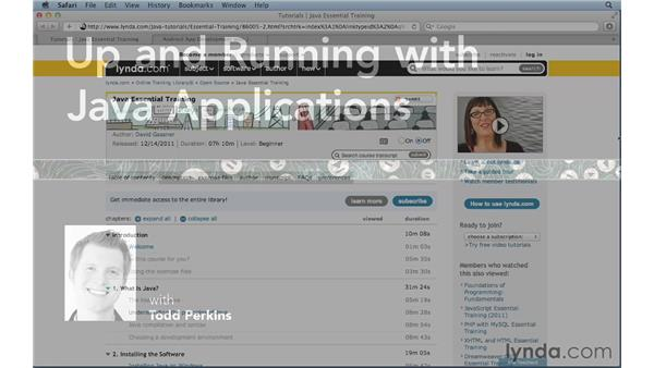 Next steps: Up and Running with Java Applications (2012)