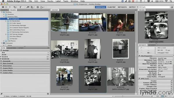 Checking focus: Documentary Photo Techniques with Photoshop and After Effects