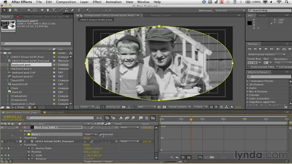 Adding vignettes in After Effects: Documentary Photo Techniques with Photoshop and After Effects