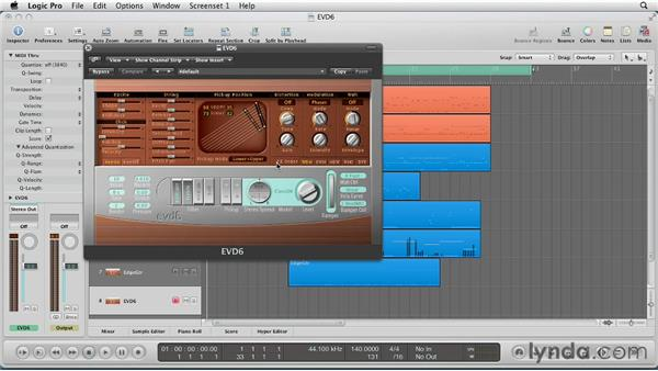Getting Started with EVD6: Virtual Instruments in Logic Pro
