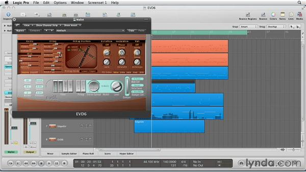 Composing with the EVD6: Virtual Instruments in Logic Pro