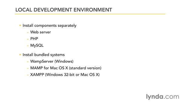 Development environment requirements: Dreamweaver and WordPress: Building Mobile Sites